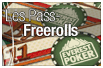 Freerolls Everest Poker